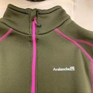 Avalanche Quarter Zip Sweater
